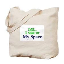 LOL-Green Tote Bag