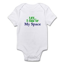 LOL-Green Infant Bodysuit