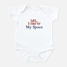 LOL-Red Infant Bodysuit