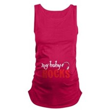 Baby Rocks Maternity Tank Top