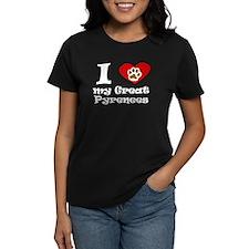 I Heart My Great Pyrenees T-Shirt