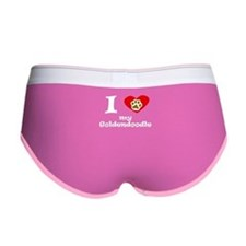I Heart My Goldendoodle Women's Boy Brief