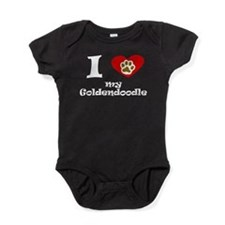 I Heart My Goldendoodle Baby Bodysuit
