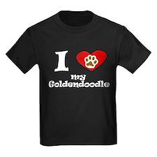 I Heart My Goldendoodle T-Shirt