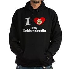 I Heart My Goldendoodle Hoodie