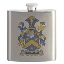 Monahan Family Crest Flask