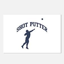 Shot Putter Postcards (Package of 8)