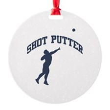 Shot Putter Ornament
