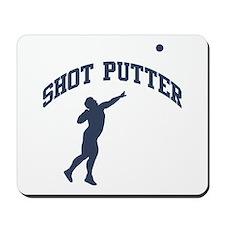 Shot Putter Mousepad