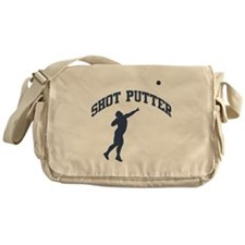 Shot Putter Messenger Bag
