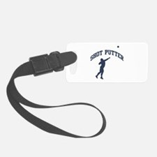 Shot Putter Luggage Tag