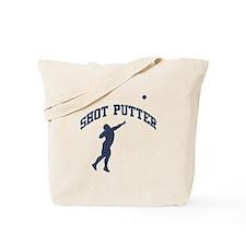 Shot Putter Tote Bag