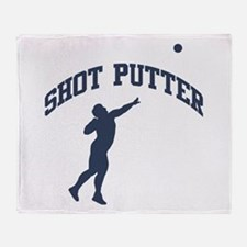 Shot Putter Throw Blanket