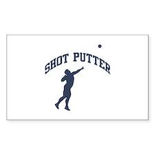 Shot Putter Decal