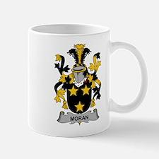 Moran Family Crest Mugs