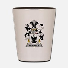 Moriarty Family Crest Shot Glass