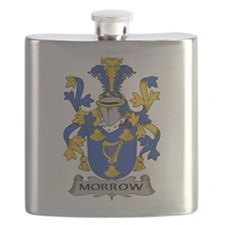 Morrow Family Crest Flask
