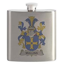 Mullins Family Crest Flask