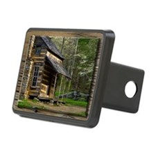 Cabin on Wood Hitch Cover