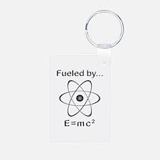 Fueled by E=mc2 Keychains