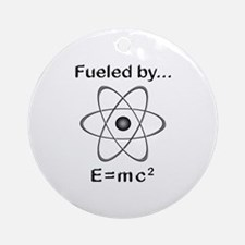 Fueled by E=mc2 Ornament (Round)