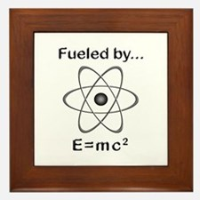 Fueled by E=mc2 Framed Tile