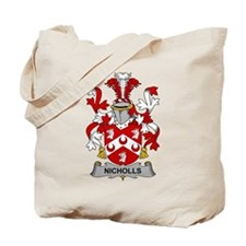Nicholls Family Crest Tote Bag