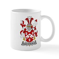 Nichols Family Crest Mugs