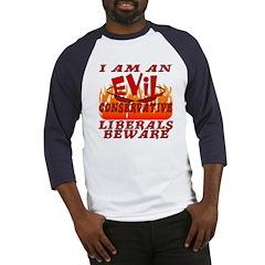 I Love God's Creatures (EVIL CON) Baseball Jersey