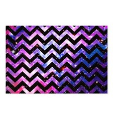 Girly Chevron Pattern Cut Postcards (Package of 8)