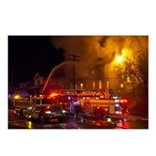 House Fire 3am Postcards (Package of 8)