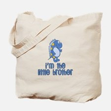 i'm the little brother dinosaur Tote Bag