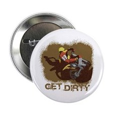 "Cute Riding dirty 2.25"" Button (10 pack)"