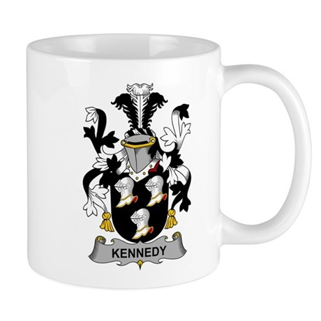 Kennedy Family Crest Mugs