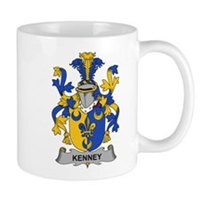 Kenney Family Crest Mugs