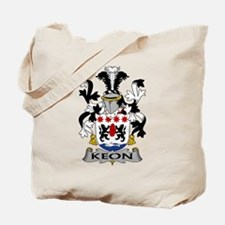 Keon Family Crest Tote Bag