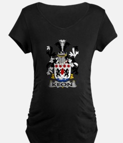 Keon Family Crest Maternity T-Shirt