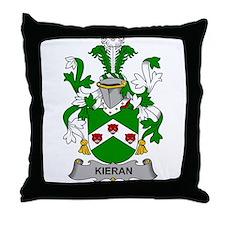 Kieran Family Crest Throw Pillow