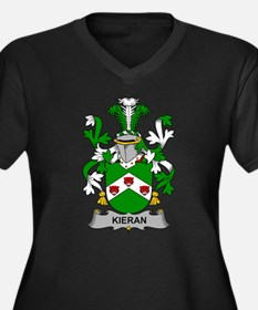Kieran Family Crest Plus Size T-Shirt