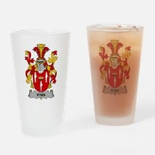 Kyan Family Crest Drinking Glass