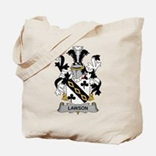 Lawson Family Crest Tote Bag