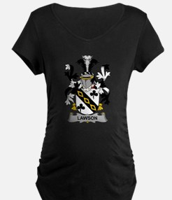 Lawson Family Crest Maternity T-Shirt