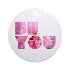 Be You Ornament (Round)
