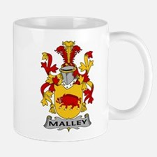 Malley Family Crest Mugs