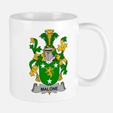 Malone Family Crest Mugs