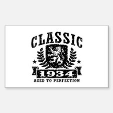 Classic 1934 Decal