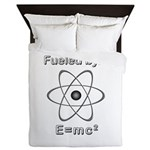 Fueled by E=mc2 Queen Duvet