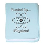 Fueled by Physics baby blanket