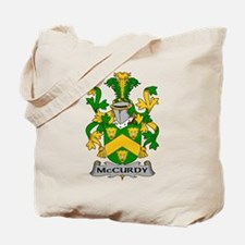 McCurdy Family Crest Tote Bag