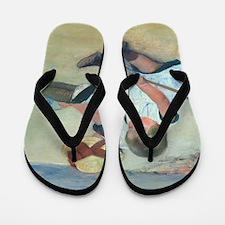 Mary Cassatt - Children Playing on the  Flip Flops